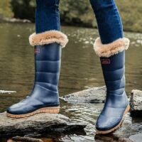 Női gumicsizmák télre,meleg és vízálló