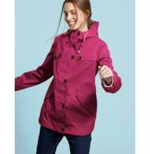 RIGHT AS RAIN COLLECTION - Joules bordó -berry- színű esőkabát