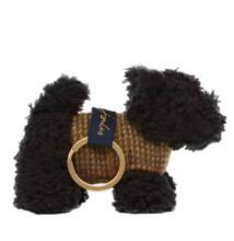Joules fekete kutyusos kulcstartó - Fekete Skót Terrier