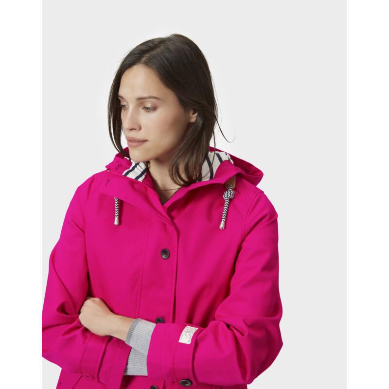 RIGHT AS RAIN COLLECTION - Joules cseresznye rózsaszín színű esőkabát