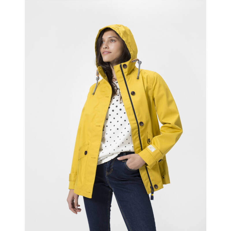 RIGHT AS RAIN COLLECTION - Joules antik gold sárga esőkabát
