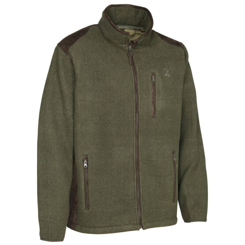 Verney-Carron Presly POLÁR kabát zöld színű